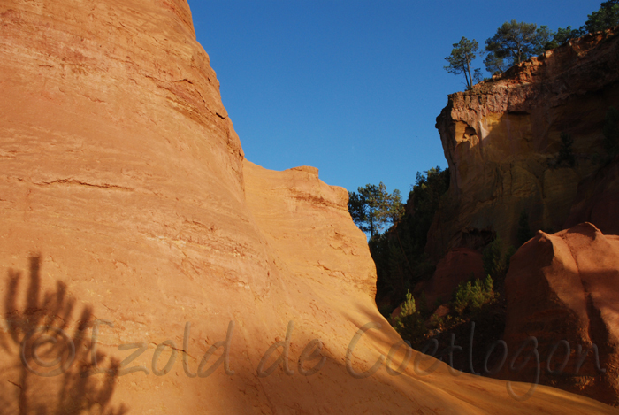 photo du sentier des Ocres, Roussillon