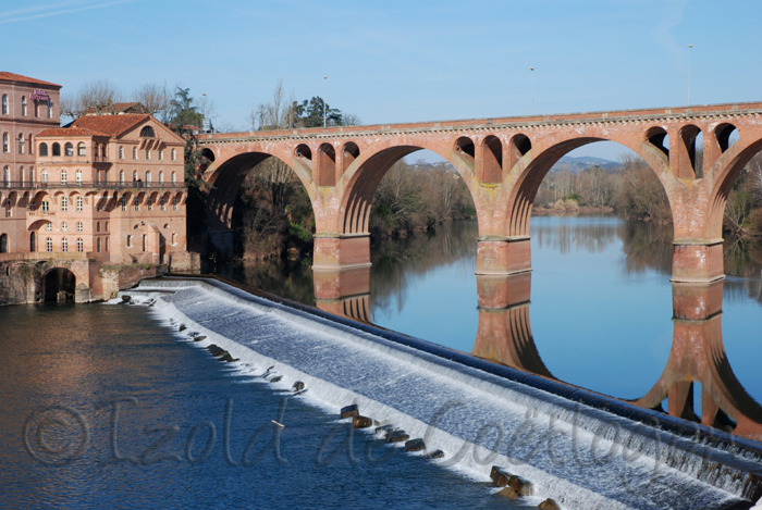photo d'albi, le pont neuf