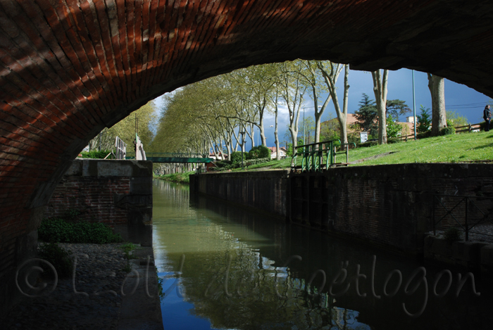 photo du canal de Brienne, Tolouse